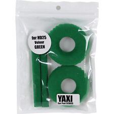De alta calidad de terciopelo verde Almohadillas Para Sennheiser HD25-1 por yaxi HD25 MK II