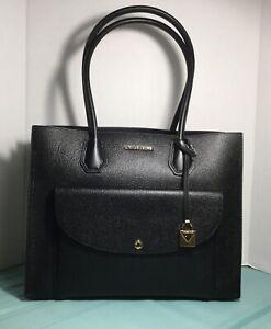 New Michael Kors Mercer XL Black Pocket Tote Bag w/Dust Bag $358.00