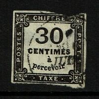 France SC# J7, Used, Mixed Condition, Ctr thin and hole -  Lot 052417