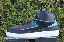 NIKE AIR JORDAN 2 RETRO GS II SZ 6 Y RADIO RAHEEM BLACK BLUE PINK 834276 015