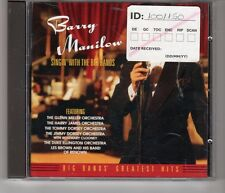 (HH829) Barry Manilow, Singin' With The Big Bands - 1994 CD