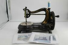 Vintage retro hand sewing machine in working order ##Daf p2