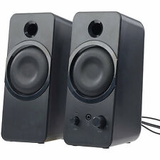 PC Boxen: Aktive Stereo-Lautsprecher MSX-150 mit USB-Stromversorgung, 20 Watt