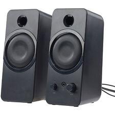auvisio Aktive Stereo-Lautsprecher MSX-150 mit USB-Stromversorgung, 20 Watt
