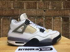 Air Jordan 4 (IV) Retro 2012– White /(Cement) Size 7.5