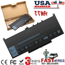 New listing Battery For Dell Latitude E7270 E7470 Series Laptop J60J5 R1V85 451-Bbsx 451 Us