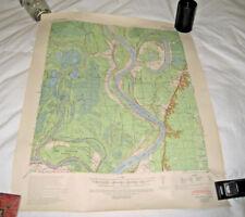 1939 Artonish Louisiana Missisippi Map War Department Corps of Engineers Sz18/22