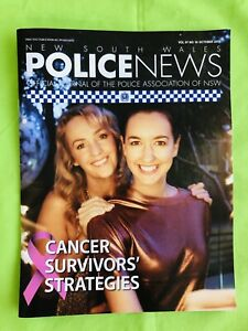 New South Wales Police News: PANSW Magazine. October 2017: Vol. 97. No 10.