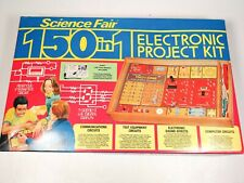 Vintage Science Fair 150 in 1 Electronic Project Kit Radio Shack Tandy 1976