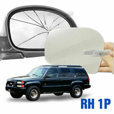 Replacement Side Mirror RH 1P + Adhesive for CHEVROLET 1995-2000 Tahoe