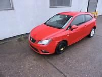 63 Seat Ibiza 1.4 Toca Damaged Salvage Repairable 1 Owner V5 Here!