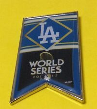 LOS ANGELES DODGERS NL CHAMPS MLB 2017 WORLD SERIES BANNER PIN
