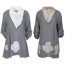 Unbranded Striped Tunic Dresses for Women