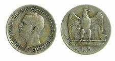 pci4613) Vittorio Emanuele III  (1901-1943) - 5 Lire Aquilino 1926