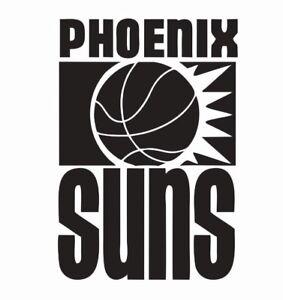 Phoenix Suns NBA Basketball Vinyl Die Cut Car Decal Sticker - FREE SHIPPING