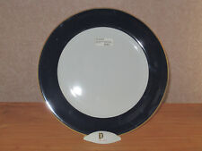 PHILIPPE DESHOULIERES *NEW* BLEU Bord Or Assiette présentation 30cm Plate