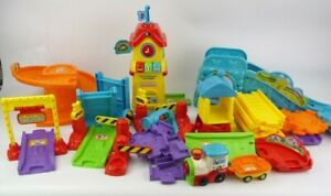 Vtech Toot Toot Train Station Set Complete Lights And Sound VGC
