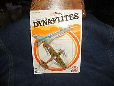 Vintage Dyna-Flites Camouflage Fighter Plane 1982 Moc