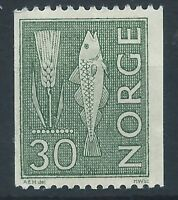 NORWAY 1962-78 1965 SG532ab Coil 30ore - green Definitive Mint MNH