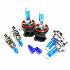 Ford Grand C-Max 55w Super White Xenon HID High/Low/Fog/Side Headlight Bulbs Set