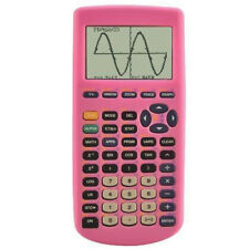 Soft Silicon Pink Case for Texas Instruments Ti-83 Plus Graphing Calculator