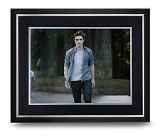 Robert Pattinson Signed Photo Large Framed Display Twilight Saga Autograph COA