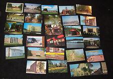 Lot of  29 Vintage Ohio Akron Lorain Medina Football Hall of Fame Postcards