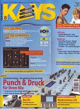 Keys 08 2004 mit CD Punch & Druck für Ihren Mix / Studio Report