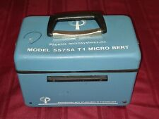 Phoenix Microsystems Model: 5575A T1 Micro Bert Electronic Testing Equipment