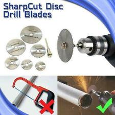 Disc Drill Blades and Mandrel (6pcs Set)