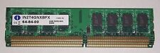 4gb DDR2 PC2-6400 PC RAM low density for Intel. Integral IN2T4GNXBFX. World post