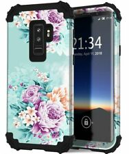 Samsung Galaxy S9 Plus Case Hybrid Rubber Full Body Shockproof Protective Cover
