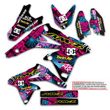 2004 2005 2006 RMZ 250 GRAPHICS KIT SUZUKI RMZ250 DECO DECALS STICKERS MOTO