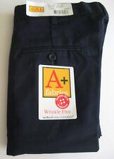 MENS W 36 WORK UNIFORM SHORTS DRESS PANTS Trousers NAVY SAI Wrinkle Free L 20