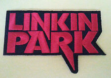 PUNK ROCK HEAVY METAL MUSIC SEW ON / IRON ON PATCH:- LINKIN' PARK (d) CHESTER