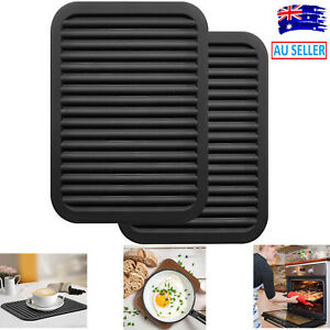 Silicone Trivets Mat Pad for Countertop Heat Resistant Table Drying Placemats