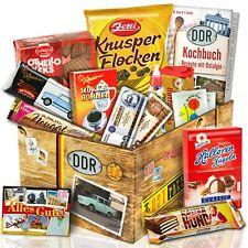 Süße DDR Geschenk Box - Süßes Ost Paket - Kult Artikel