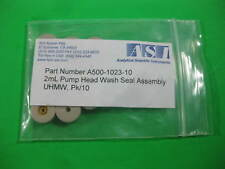 ASI 2ml Pump Head Wash Seal -- A500-1023-10 -- New