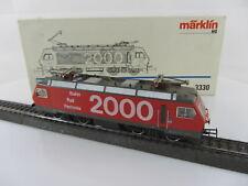Märklin 3330 Baureihe Re 4/4 der SBB Bahn 2000 in rot/grau Schweiz, mit OVP