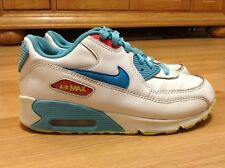buy popular 283ee 1410c Girls Youth Nike Air Max 90 Running Shoes 345018-123 Size 2.5Y