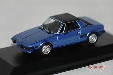 Fiat X1/9 1974 blau 1:43 MaXichamps Minichamps neu & OVP 940121661