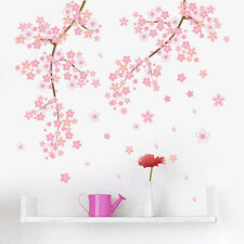 Cherry Blossom Wall Decal Art Mural Sticker Living Room Bedroom Office DIY Decor