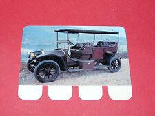 N°98 PEUGEOT 1905 PLAQUE METAL COOP 1964 AUTOMOBILE A TRAVERS AGES
