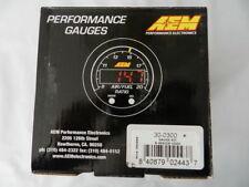 AEM X-Series Wideband Gauge AFR O2 UEGO Air Fuel Ratio 30-0300
