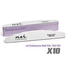 nsi Endurance 150/150 Nail File x 10 Pieces