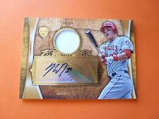 2013 Topps Supreme, Mike Trout Certified Auto Patch, Serial #: 15/25, Angels