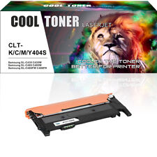 1 Pack Toner for Samsung CLT-K404S C430 SL-C430W C480 SL-C480W C480FW Printer