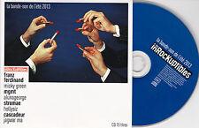 CD CARTONNE CARDSLEEVE 15T STROMAE/FRANZ FERDINAND/MICKY GREEN/MGMT/PENDENTIF