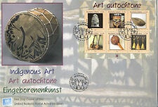 UNITED NATIONS 2006 INDIGENOUS ART O/S FIRST DAY COVER GENEVA SHS