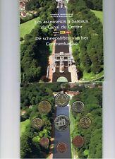 Belgie  BU set 2007  De scheepsliften  1 ct t/m 2 euro  8 munten   + penning